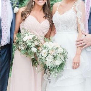 Light Pink Bella Bridesmaids dress
